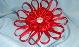 Шпильки для волосся канзаші з пелюстками сердечка до дня святого валентина