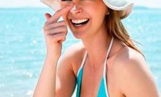 Захист від сонця. Як захистити від сонця обличчя, шкіру і волосся: сучасні засоби захисту