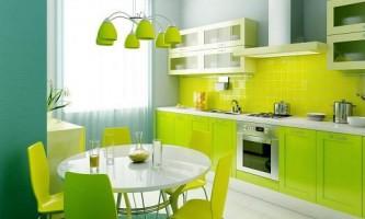 Зелені фарби в нашому домі