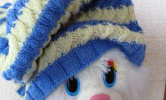 Жіноча шапка спицями зі схемами та описом
